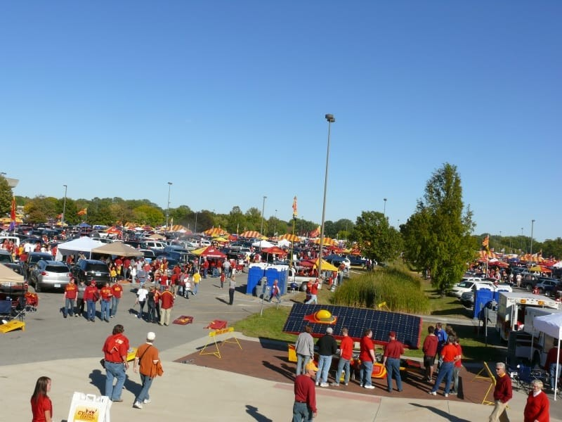 P10 tailgating at ISU